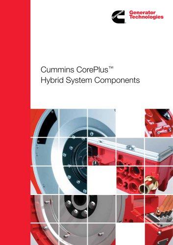 Cummins CorePlus Hybrid System Components