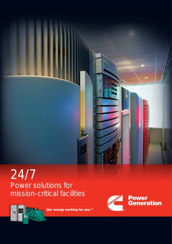 Power solutions for mission-critical facilities