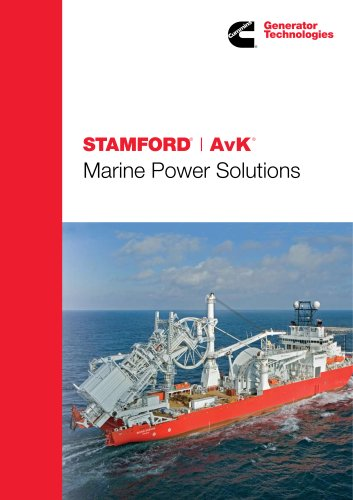 STAMFORD and AvK MARINE PRODUCT GUIDE