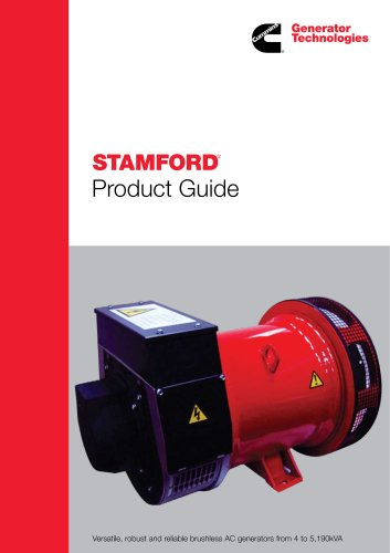 STAMFORD PRODUCT GUIDE