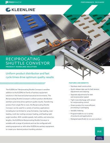 Reciprocating Shuttle Conveyor