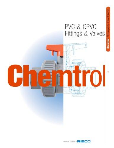 Chemtrol® PVC & CPVC Fittings & Valves Catalog