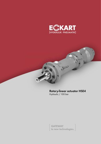 Rotary-linear actuator HSE4