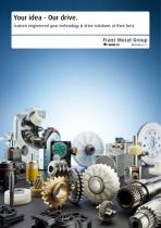Custom engineered gear technology and drive solutions