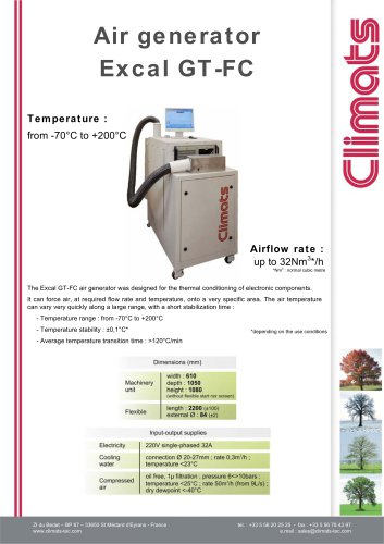GT-FC Air Generator
