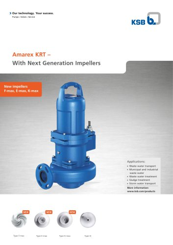 Amarex KRT – With Next Generation Impellers