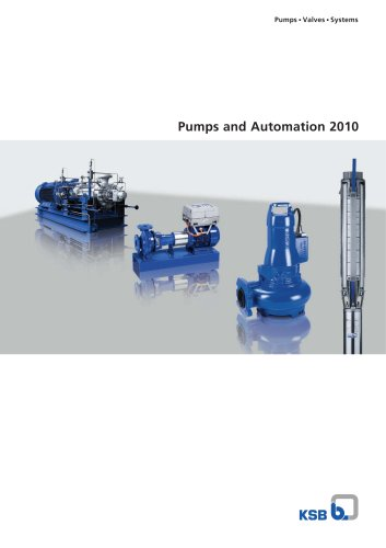 Pumps and Automation 2010