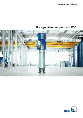 Rohrgehäusepumpen von KSB.