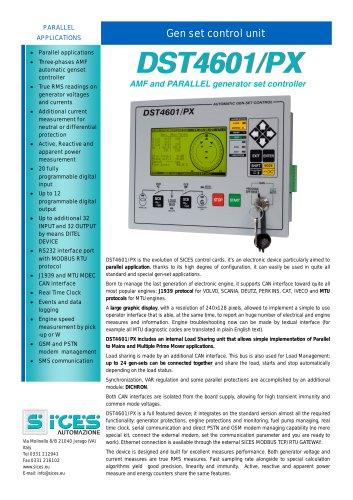DST4601PX Genset controller