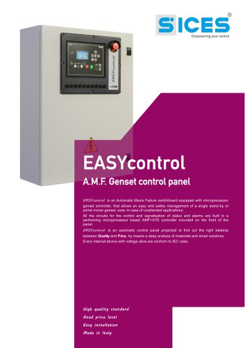 EASYCONTROL - AMF Control panel