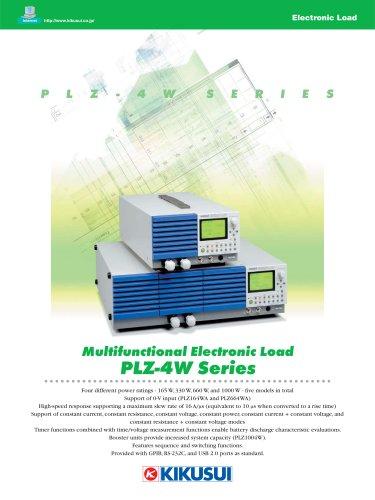 0V Input Electronic Load / PLZ-4W Series
