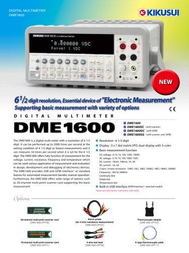 DME1600 Digital Multimeter (6 1/2 digit)
