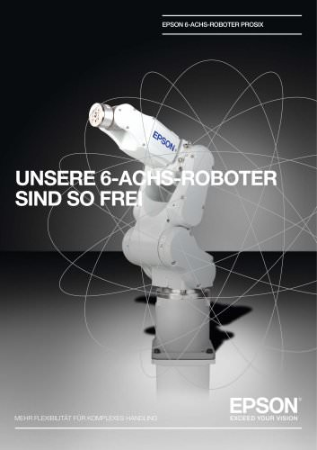 EPSON 6-ACHS-ROBOTER PROSIX