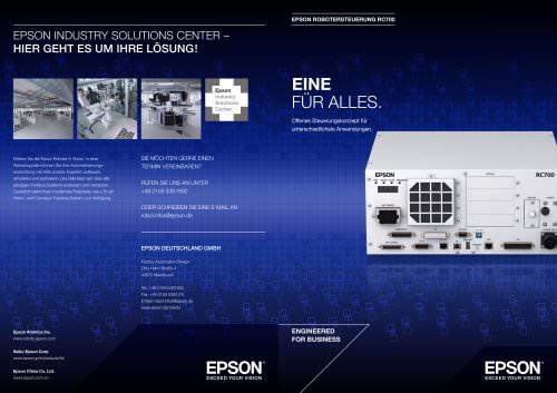 Epson Steuerung RC700