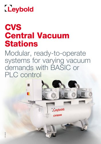 CVS Central Vacuum Stations
