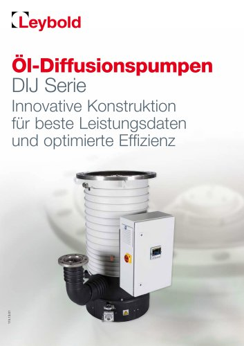 DIJ - Oil Diffusion Pumps