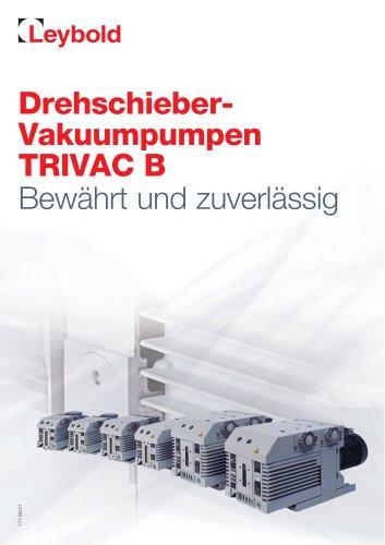 Drehschieberpumpen TRIVAC