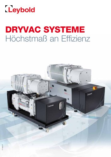 DRYVAC Systems