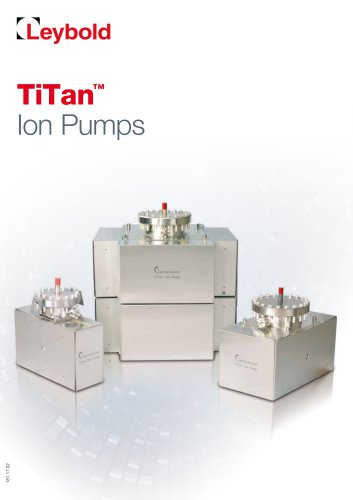 Ion Getter Pumps