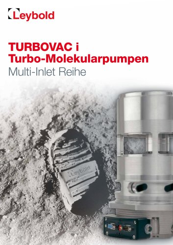 Multi Inlet TURBOVAC i