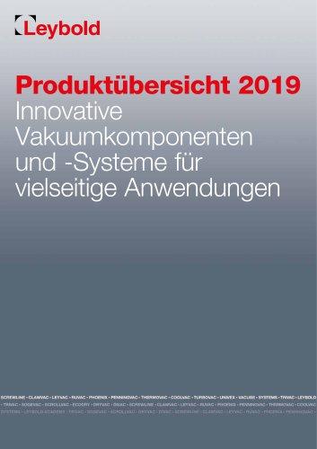 Produktübersicht 2019