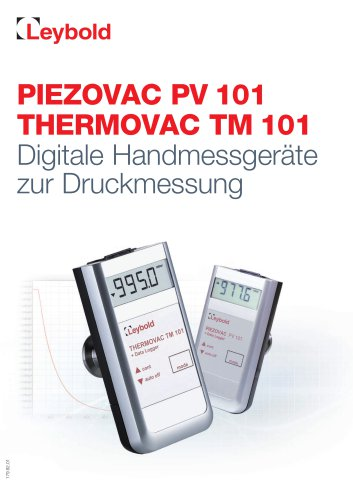 PV 101 / TM 101 Handheld Gauges