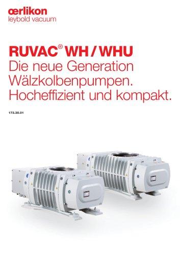 RUVAC® WH/WHU Die neue Generation Wälzkolbenpumpen.