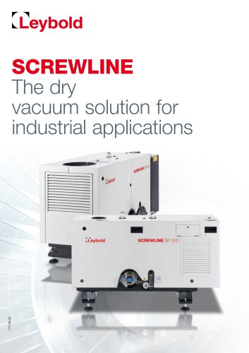 SCREWLINE - Dry compression for vacuum