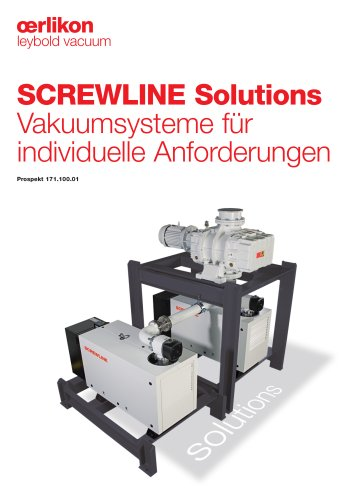 SCREWLINE Solutions Vakuumsysteme