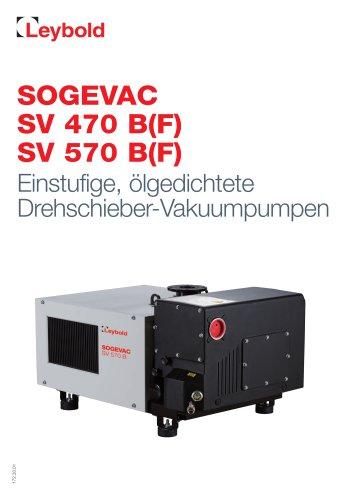SOGEVAC SV 470 B(F) SV 570 B(F)
