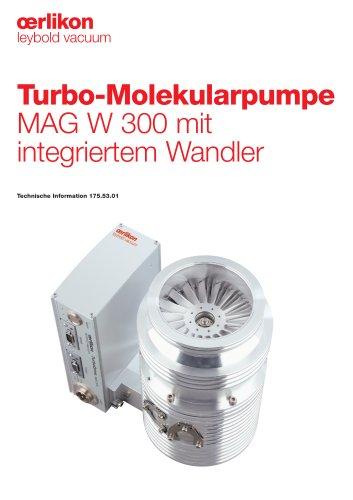 Turbo-Molekularpumpe MAG W 300