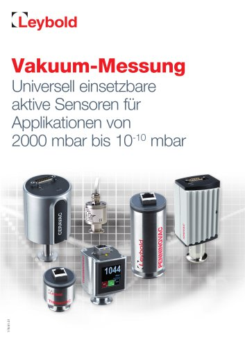 Vacuum Measurement - Sensors