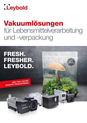Vakuumlösungen für Lebensmittelverarbeitung und -verpackung