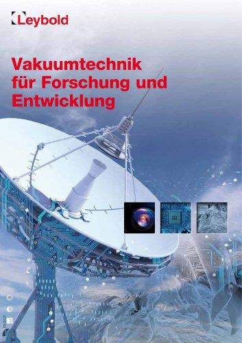 Vakuumtechnik für Forschung und Entwicklung