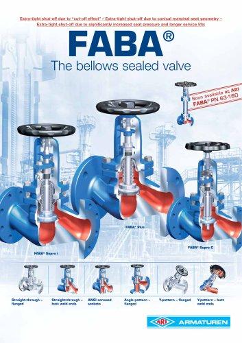 FABA - Bellows sealed valve
