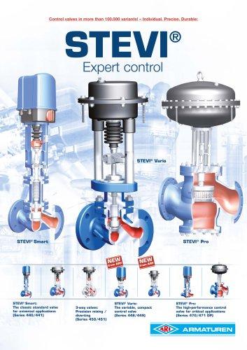 STEVI - Control valves