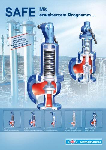 z.B. SAFE / SAFE-P - Nennweiten-Erweiterung und Druckerhöhung