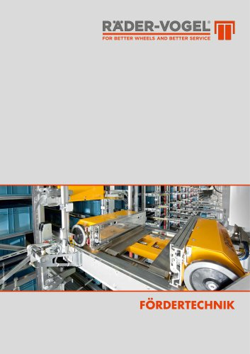 Fördertechnik-Broschüre