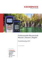 GHM Greisinger – Product catalog 2019