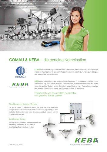 COMAU & KEBA – die perfekte Kombination