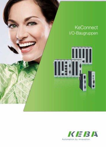 KeConnect I/O-Baugruppen