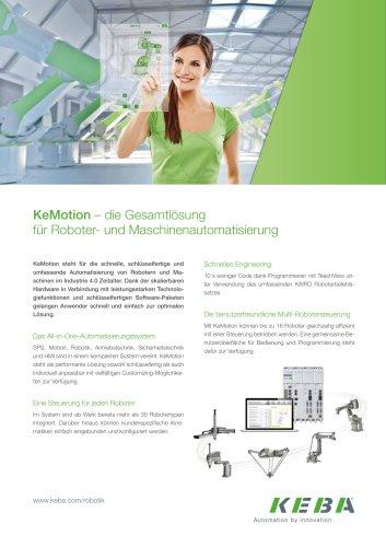 KeMotion – die Gesamtlösung für Roboter- und Maschinenautomatisierung