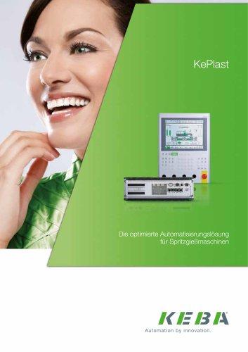 KePlast - Die optimierte Automatisierungslösung  für Spritzgießmaschinen