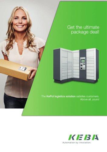 The KePol logistics solution satisfies customers
