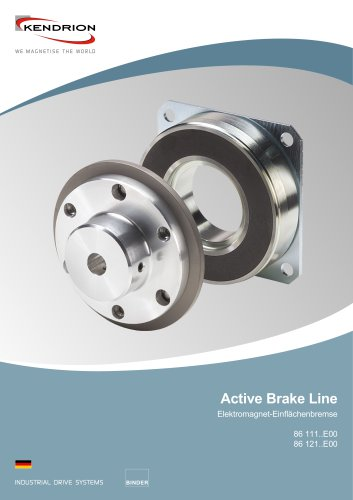 Elektromagnetbremse - Active Brake Line