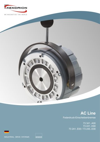 Federdruckbremse - AC Line