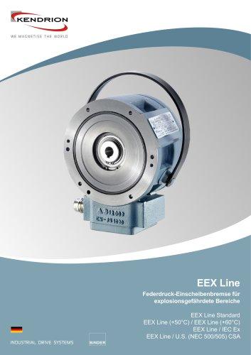 Federdruckbremse - EEX Line