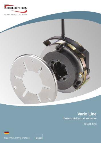 Federdruckbremse - Vario Line