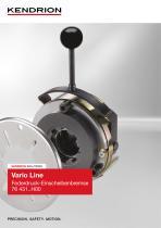 Federdruckbremse - Vario Line (Deutsch) - 1