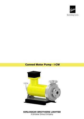 Canned Motor P ump - i-CM